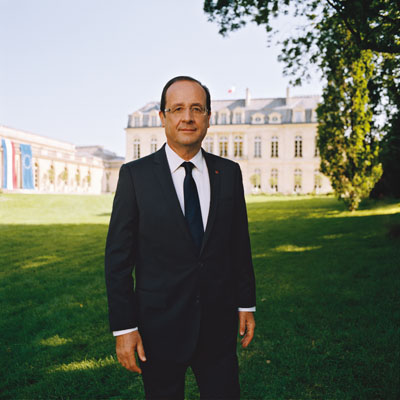 Portrait officiel raté du Président Hollande par Raymond Depardon